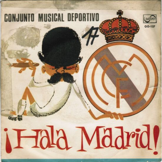 real madrid a hala madrid b hala madrid another version of this famous ...